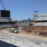 new University of Houston football stadium under construction June 2014