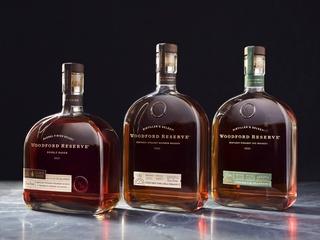Woodford Reserve bottles