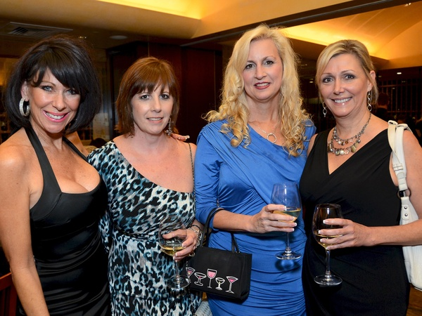 CAP poker tournament, July 2012, Ronna Lynn, Kelly Cook, Suzanne Reppone, Kay Jones