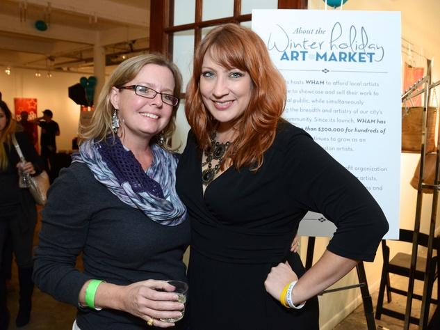 8, WHAM preview party, November 2012, Rachel Schipul, Jenni Rebecca Stephenson no photo id