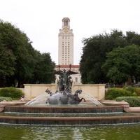 University of Texas fountain