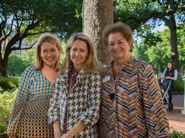 Diane Fullingim, JLD Sustaining Advisor Lynn McBee and JLD Sustainer President Kittye Peeler