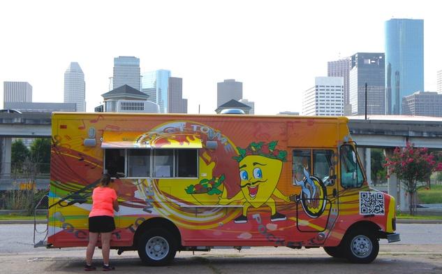 Houston Food Park grand opening Pocket to Me pita truck