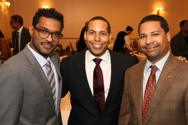 News, Shelby, Morehouse College Father's Day event, June 2015, Farouk Plummer, Bryce Kennard, Trey Stone
