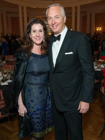 19 Phoebe and Bobby Tudor at the Inprint Ball February 2015