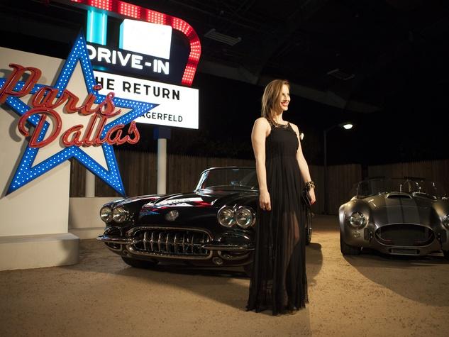 Liz Goldwyn at Chanel Metiers d'Art in Dallas