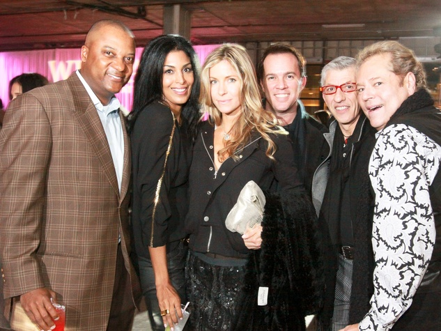 News_CM Launch Dec. 2009_Darryl Hamilton_Ursaline Hamilton_Laura Casey_Rob Rutherford_John Dascoulias_Bubba McNeely