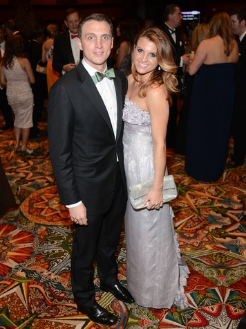 Jason and Lindley Arnoldy at the JDRF Gala April 2014