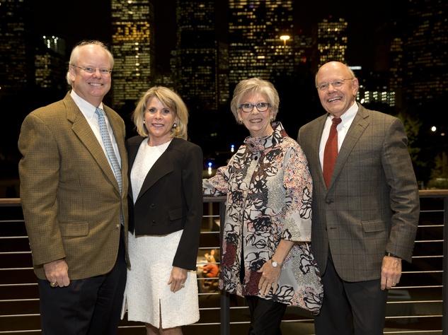 Houston, Buffalo Bayou Preservation gala, Nov. 2016, Brady Carruth, Zane Carruth, Gayle Eury, Bob Eury