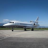 Falcon 900 EX, jet, private plane