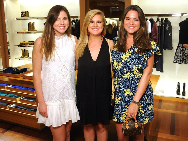 Houston, Louis Vuitton Tambour Horizon launch party, July 2017, Caroline Dawson, Molly McMurtry, Mary Ann Cuellar