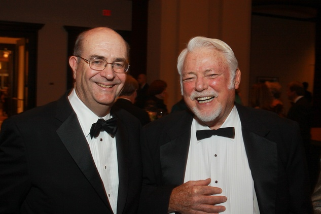 84 Steve Miller, left, and Malcolm Gillis at the Baker Institute 20th Anniversary Gala November 2013