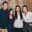 17 Dine Around Houston at Batanga September 2013 Johnathan Lui, Jennifer Lai, Hillary Patuwo, Jennifer Cheng