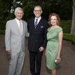 Tommy Reckling, from left, Gary Tinterow and Isla Reckling at the Rienzi Spring Party April 2014