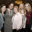 16 Jessica Segal, from left, Laura Laux Higgins, Nancy Laux, Karen Walker and Reagan Fibbe at Bo's Place luncheon February 2015