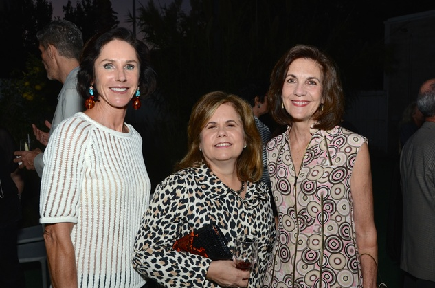Heidi Gerger, from left, Mary Arocha and Jereann Chaney at the Aurora Picture Show Awards dinner October 2014