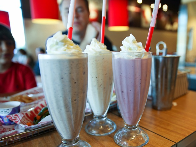 milkshakes at Smashburger