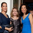 401 Yasmine Gibellini, from left, Debbie Sukin and Dr. Huda Zoghbi at the Blue Bird Circle Gala October 2013