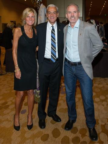 Ann and Rick Shadyac, Wyman Roberts