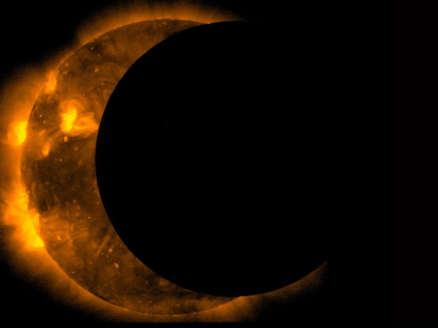 Lunar and Planetary Institute presents #EclipseOverHouston viewing