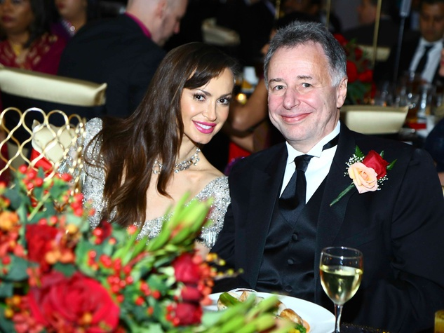 Karina Smirnoff and Anthony Melikhov at the South Asian Chamber Gala February 2014