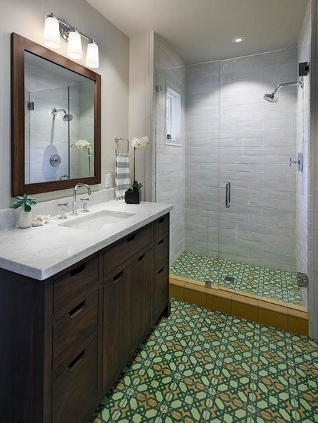 Wonderful Would You Add Encaustic Tiles To Your Bathroom Let Us Know Below Or