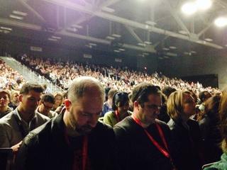 Edward Snowden SXSW Interactive 2014 audience
