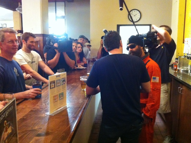 News_Saint Arnold_Drinking Made Easy_filming_May 2012