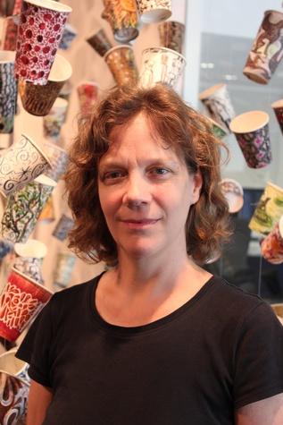 Pearl Fincher, Gwyneth Leech, The Cup Drawings, June 2012