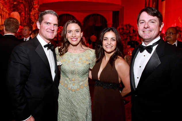 259 Joey and Sarah Neuhoff, from left, with Haydee Colon and Bubba Clark Houston Grand Opera Ball April 2015
