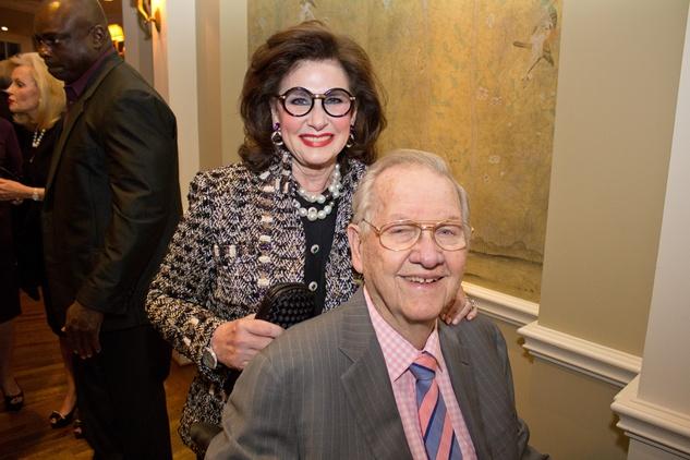 Houston Hospice dinner, November 2012, Elyse Lanier, Bob Lanier