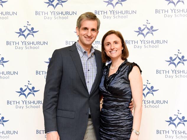 Houston, Beth Yeshurun Day School gala, December 2015, Kenneth and Dana Katz.
