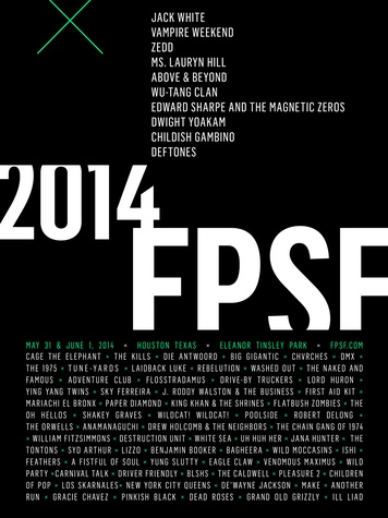 Free Press Summer Fest 2014 lineup February 2014