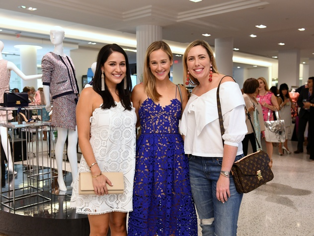 Houston, Women of Wardrobe Summer Soiree, August 2017, Ashley Miranda, Haley Urquhart, Kinsey Schimsk