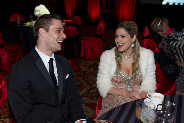 18 David Daspit and Jennifer Daspit-Rose at the Covenant House Gala March 2015