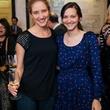 11 Tatiana Fofanova, left, and Stephanie Marten-Ellis at the Artesa wine tasting at Cru March 2014