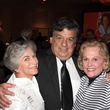 Anne Mendelsohn, from left, Dr.Christopher Logothetis and Nancy Ames at the Houston Living Legend fundraiser dinner May 2014