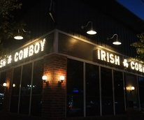 Irish Cowboy night exterior