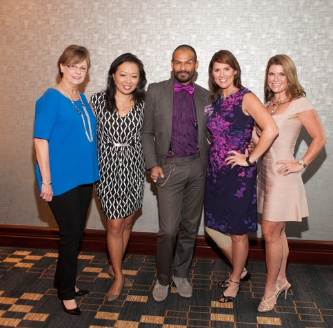 News, Shelby, Woman's Hospital Labor Day luncheon, August 2014, Linda Russell, Miya Shay, Todd Ramos, Rebecca Matthews, Laura Davenport