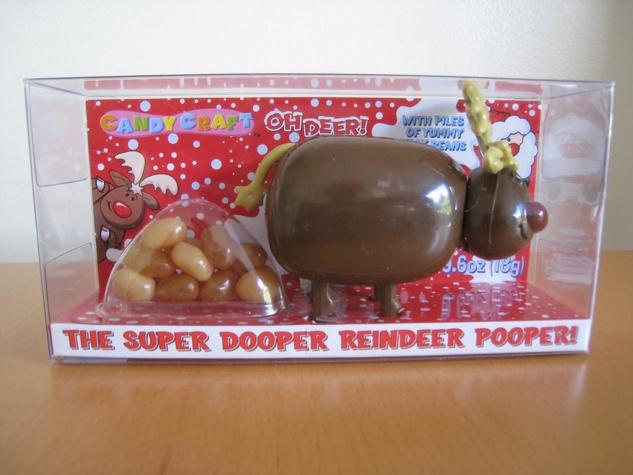 Super Dooper Reindeer Pooper terrible gift