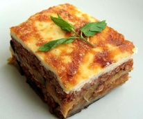 Moussaka from Istanbul Grill in Arlington