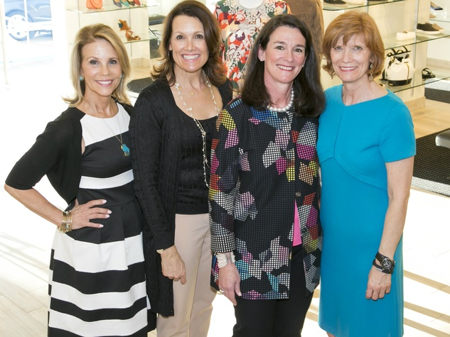 Anne Reeder (Executive Director Wilkinson), Pam Perella (Can Do Luncheon Sponsor Party Chair), Leslie Diers (Can Do Luncheon Chair), Beth Thoele (Can Do Kickoff Party Chair)