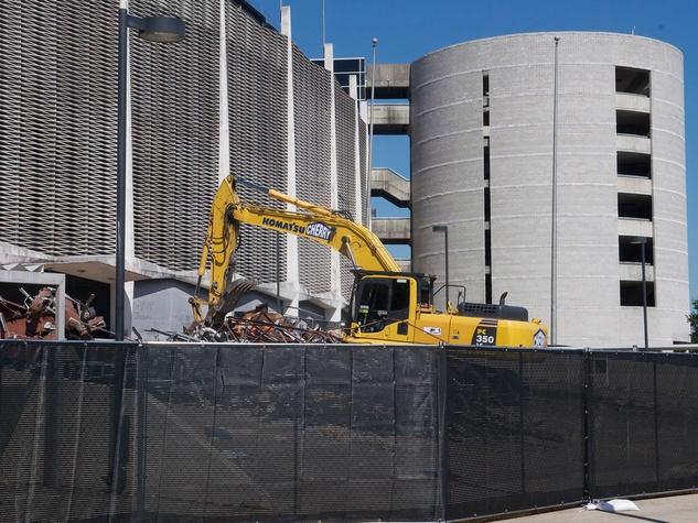 4 Astrodome exterior demolition October 2013