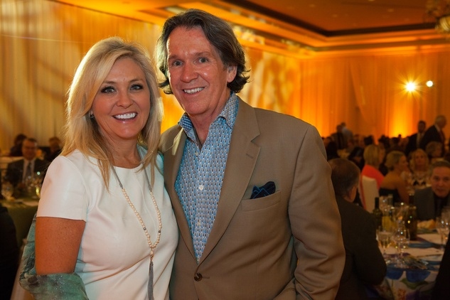 Leslie Martin and Frank Gracely at the Sugar Land Wine and Food Affair April 2015