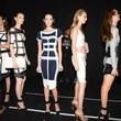 Herve Leger, backstage, Mercedes-Benz Fashion Week, Sept. 2013