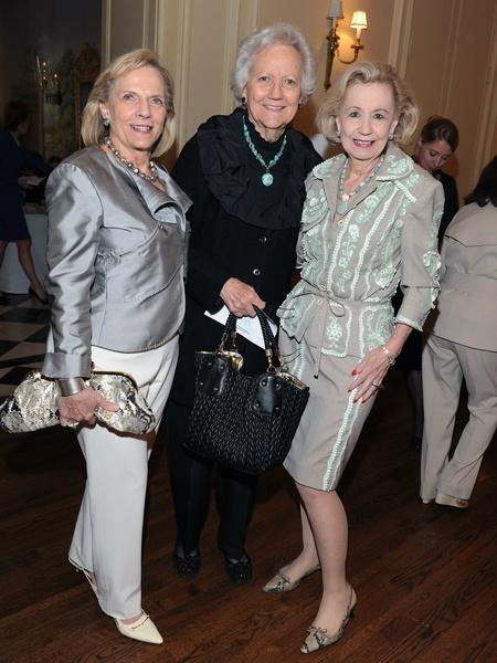 Jane Lattimore, Carolyn Lupton, Yvonne Crum, Salvation Army Luncheon