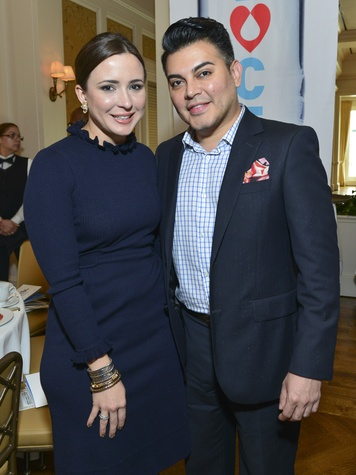 18 Michelle Reyna and Edward Sanchez at the I Am Waters Luncheon April 2014