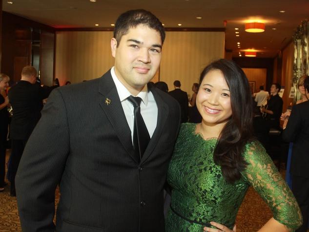 78 Brian Henderson and Nancy Chung at Big Brothers the Big Sisters gala.