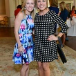 Brittney Jaggard, left, and Jessica Jaggard at the On the Move luncheon March 2014
