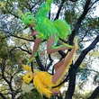"""The """"Feathers in Flight"""" aerialist show"""